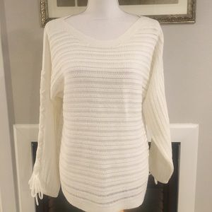 New York & Company White Sweater